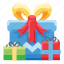 birthday, gift, giveaway, party, prize, reward icon