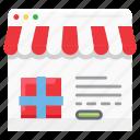 e-commerce, market, online, online shop, website icon
