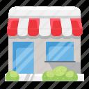 e-commerce, market, offline store, shop, store