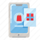 app, device, mobile app, online shop, online shopping, shopping icon
