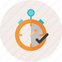 clock, deadline, delivery, ecommerce, express, management, on time, stopwatch, timer icon