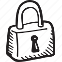 ecommerce, lock, padlock, password, protection, safety, security icon