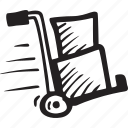 delivery, ecommerce, gift, package, purchase, shipment icon