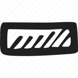 dash, line, minus, subtract icon