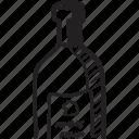 alcohol, beverage, bottle, cork, wine icon