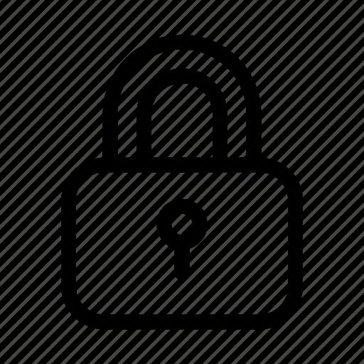 lock, locked, padlock, safe, secure, security, trustworthy icon