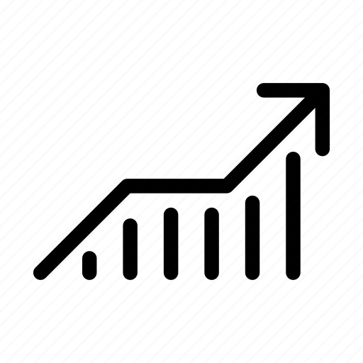 graph, growing, growth, increase, profits, statistics, stats icon