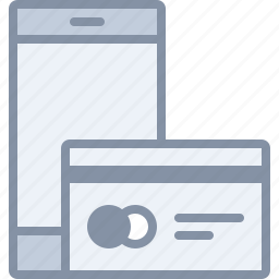 card, ecommerce, mobile, payment, phone, shopping icon