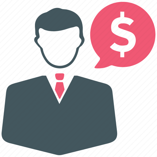 dollar, earnings, finance, income, man, sales, user icon