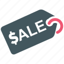 discount, sale, shop, tag icon