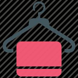 closet, cloth hanger, clothes, hanger icon