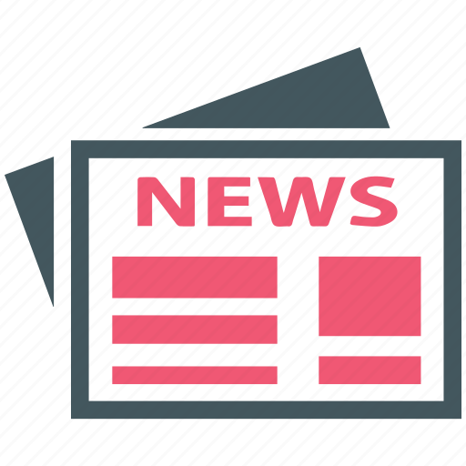 News, newspaper, paper icon - Download on Iconfinder