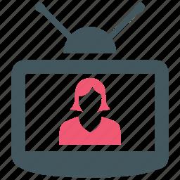 entertainment, television, tv icon