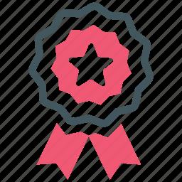 badge, star icon