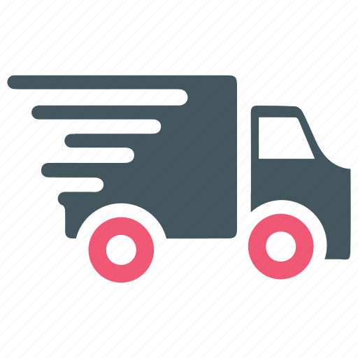 Delivery, fast, logistics, running, shipping, truck, vehicle icon - Download on Iconfinder