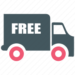 delivery, free, free shipping, send, shipping, shopping icon