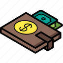 commerce, dollar, sales, shopping, wallet icon