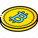 bit, coin, commerce, sales, shopping icon