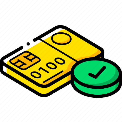 approved, card, commerce, sales, shopping icon