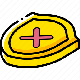 commerce, sales, shield, shopping icon