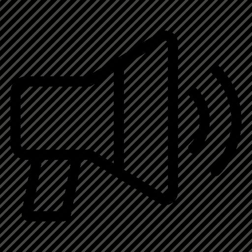 Advertising, bullhorn, marketing, megaphone, promotion icon - Download on Iconfinder
