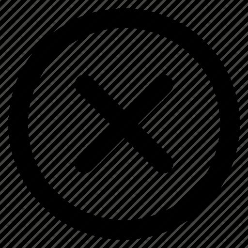 Cancel, close, delete, exit, remove icon - Download on Iconfinder