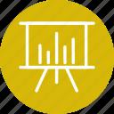 analysis, analytics, presentation, statistics icon