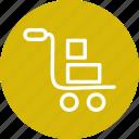 cart, shopping, trolley, shop