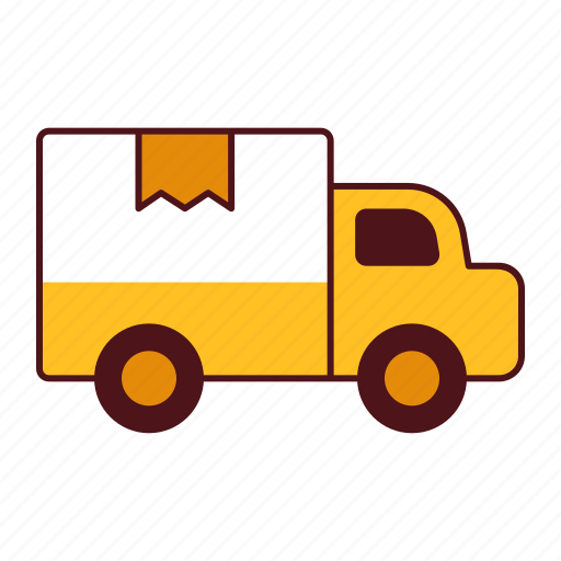 commercial, delivery, express, logistic, service, shipping, transportation, truck, vehicle icon