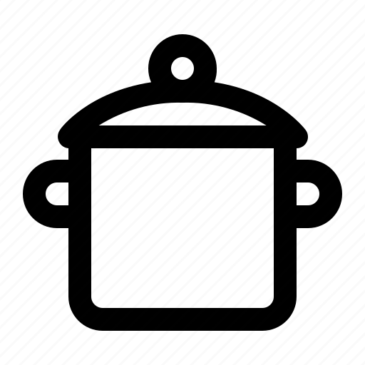boiling, ecommerce, kitchen, pot icon