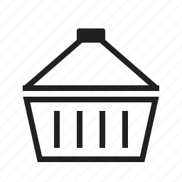 basket, business carrier, cart, market, shop, shopping icon