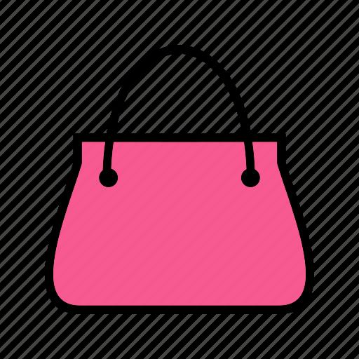 bag, billfold, ladies, purse icon