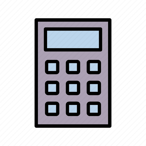 accounting, calculate, calculator, math icon