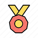 award, badge, medal, reward icon