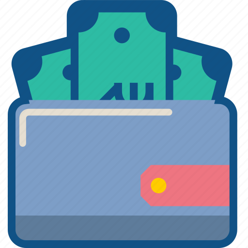 ecommerce, finance, money, pocket, purse, storage, wallet icon