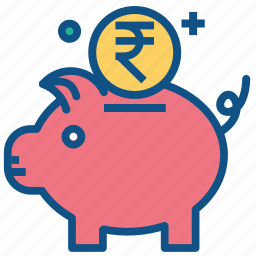 bank, banking, budget, money, piggy, saving, secure icon
