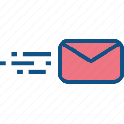 advertising, email, mail, marketing, newsletter, notification, push icon