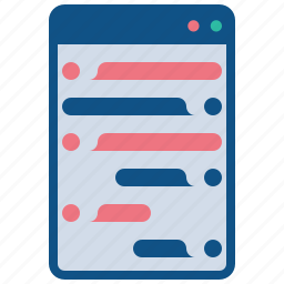 care, chatting, customer, help, online, window icon