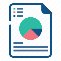 analysis, annual, chart, graph, pie, report, sales icon