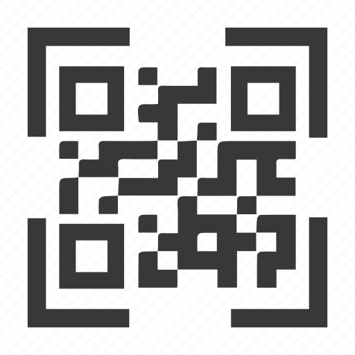 code, qr code, scan icon