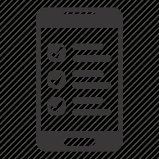 app, application, checklist icon