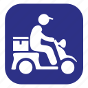 courier, delivery, ecommerce, fast, free shipping, shopping, transport icon