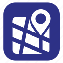 address, location, map, store locator icon