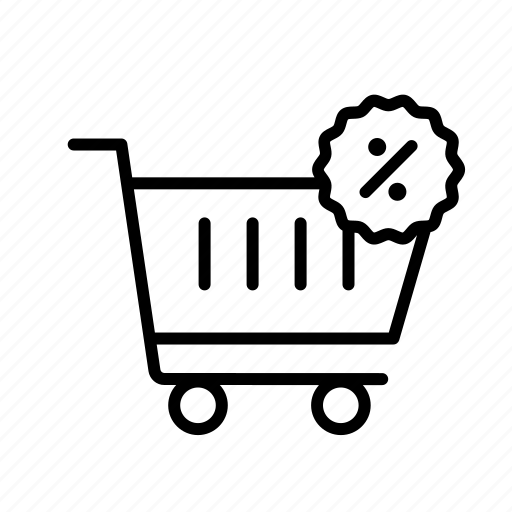 cart, discount, ecommerce, finance icon