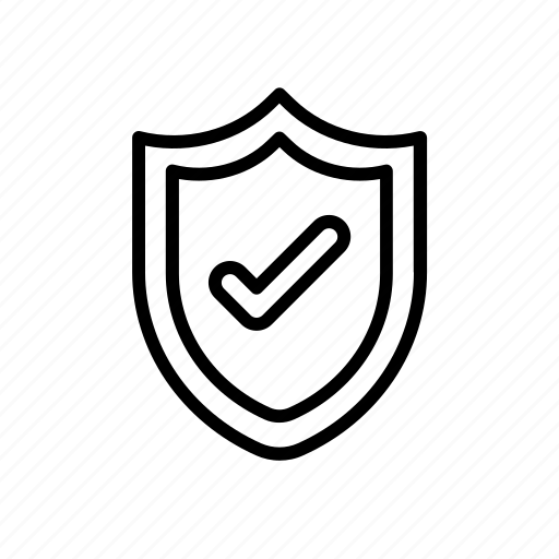 ecommerce, finance, security, shield icon