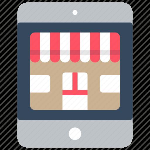 ecommerce, ipad, mobile, shop, store icon