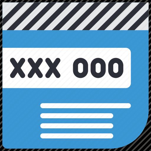 code, credit, debit, ecommerce, security, visa icon