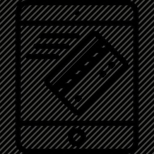 ecommerce, ipad, processing icon