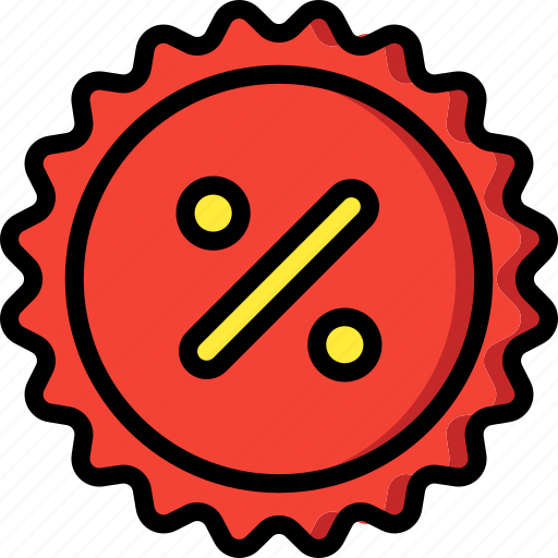 discount, ecommerce icon