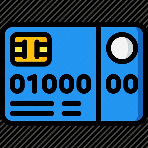 card, credit, debit, ecommerce, payment, visa icon